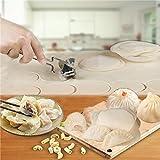 Generic 7cm Stainless Steel Dumpling Wrappers Skin Cutter Maker Mold Mould Dumpling Tool