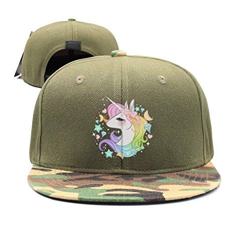 Cute Unicorns Boys Girls Mesh Cap Trucker Hats Adjustable