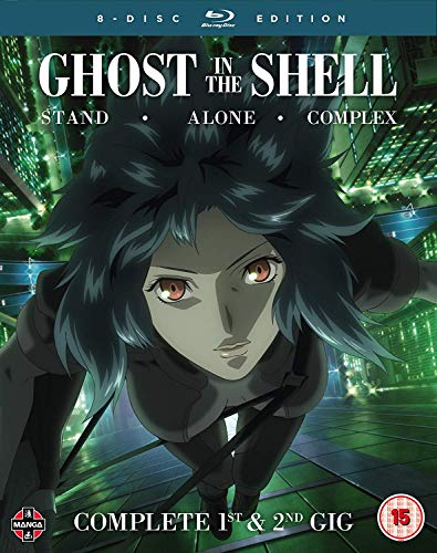 Ghost In The Shell Stand Alone Complex Complete Series Collection Blu Ray