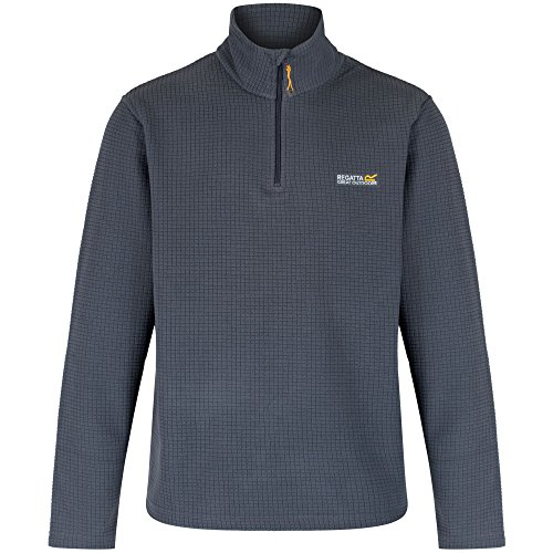 Regatta Elgon - Giacca in pile da uomo Seal Grey