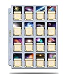 100x Ultra Pro Platinum Pages 16-Pocket Seiten (Fachgröße: 41x63mm)