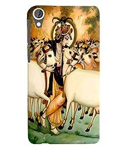 Citydreamz Krishna/Gods/Religious/Spiritual/Flute/Mor Pankh/Janmashtmi Hard Polycarbonate Designer Back Case Cover For HTC Desire 728/HTC Desire 728G/HTC Desire 728 LTE/ HTC Desire Dual Sim