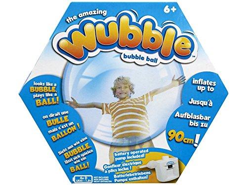 Wubble Bubble - Pelota Transparente (varios modelos) - Burbuja wubble std, Aire libre A partir de 6 años