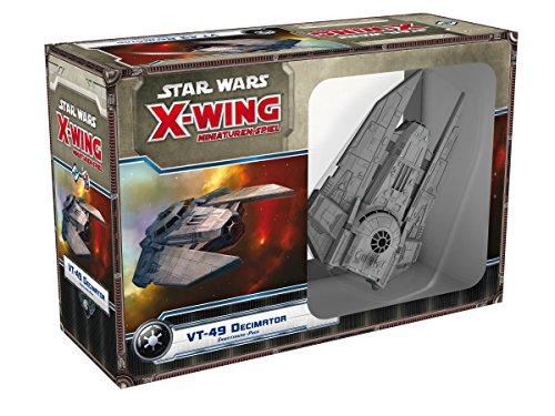 (Asmodee HEI0423 - Star Wars X-Wing - VT-49 Decimator, Erweiterung-Pack)