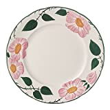 Villeroy & Boch Rose Sauvage Héritage Speiseteller, 26 cm, Premium Porzellan, Weiß/Bunt