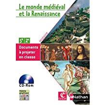 CD-ROM de Documents Moyen Age et Renaissance 5e/2e