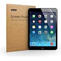 "[2-Pack] Anker Clear Schutzfolie für iPad Air 2 iPad Air iPad 5 / iPad Pro 9.7 / New iPad 9.7"" (2017) Displayschutz Screen Protector - Klar - High Definition (HD) - Schmutzresistent - Lebenslange Garantie"