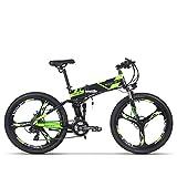 Eléctrico plegable para bicicleta de montaña para bicicleta MTB RT860 250W*36V*8Ah 26, doble...