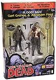 McFarlane Comics Walking Dead 2 Pack PX Carl et Abraham, 15 cm