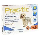Prac Tic F.Sehr Kl.Hunde 2-4,5 Kg Einzeldosispip, 3 St