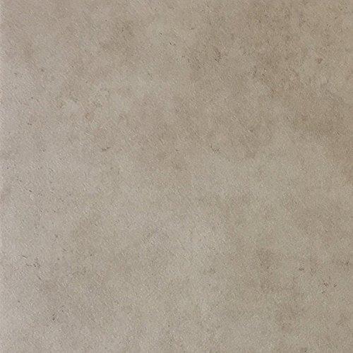 PVC-Boden in Stein-Optik & Marmoroptik Hell | Muster | Vinylboden versch. Längen | Fußbodenheizung geeignet | PVC Platten strapazierfähig & pflegeleicht | robuster, rutschhemmender Fußboden-Belag -