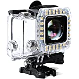 Tolifo HF40 LED Light LED Ring Shooting Night Flash Light For GoPro Hero 3+