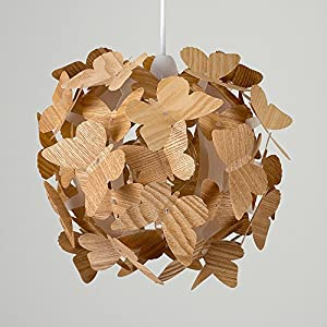 Beautiful Modern Butterflies Ceiling Pendant Bedroom Chandelier Light Lamp Shade from MiniSun