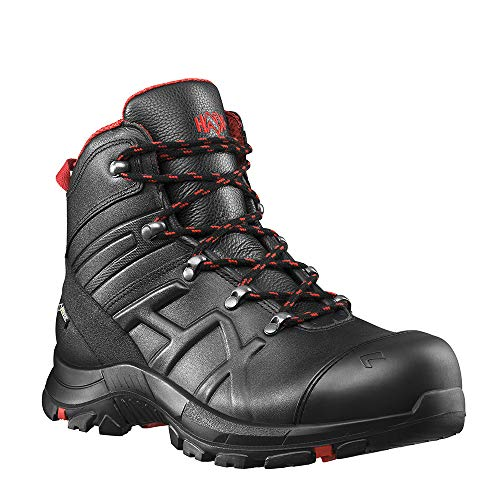 b19c332344ff Haix Black Eagle Safety 54 Mid Robuste Workwear Sicherheitsschuhe aus  besonders dickem Leder. 46