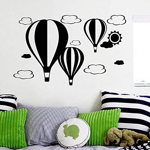Mode Dekoration Wandtattoo Ballons Luftwolken Sun Decals Kinder Kinderzimmer Aufkleber Wandbilder 45X70CM
