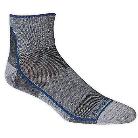 Darn Tough Vermont Men's 1/4 Merino Wool Ultra-Light Athletic Socks