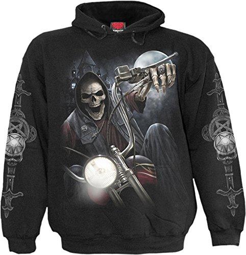 night-church-gothic-fantasy-metal-skelet-motor-hoody-trui-met-capuchon-zwart