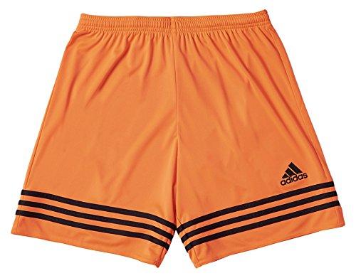 Adidas entrada 14, pantaloncino bambino, multicolore (arancione/nero), 140