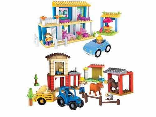Mega Bloks - Construccion Bloktown Granja Y Casa Surtidas
