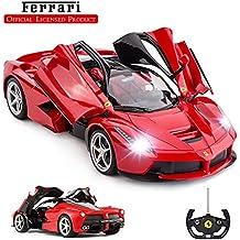 Rastar - Coche teledirigido a escala 1/14 Ferrari LaFerrari, mando a distancia para