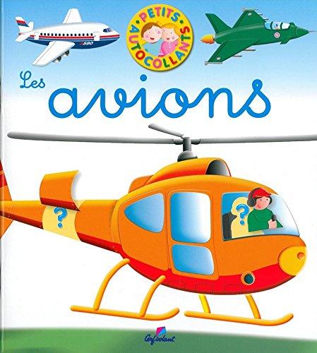 Les avions - Petits autocollants (04)