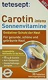 Tetesept Carotin intens Sonnenvitamine, 30 Stück, 5er Pack, (5 x 15,6 g)