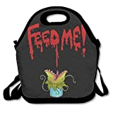 llusrty Little Shop Of Horrors Feed Me Funny Lunchtasche Lunch Bag