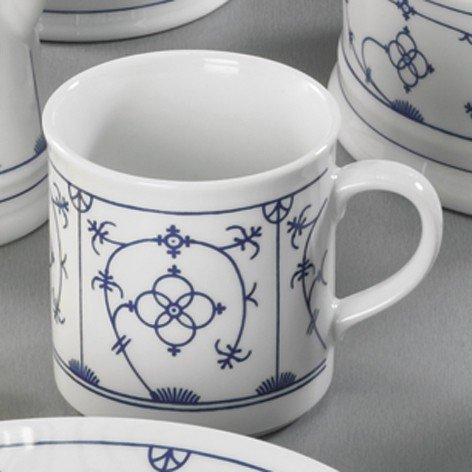 Winterling Porzellan Henkelbecher 1920 Tallin Indischblau Kaffeebecher