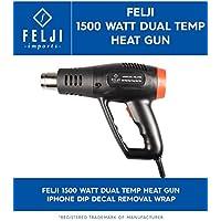 felji 1500W Dual Temperatura Calor pistola iphone DIP de eliminación para Wrap