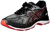Asics Gel-Nimbus 20, Zapatillas de Running para Hombre, Negro (Black/Red Alert 002), 44.5 EU