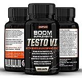 Booster de Testostérone Naturel | Testostérone | Augmente force, libido, performance et énergie | Réduit la fatigue | 120 comprimés, cure de 4 mois | Pour homme et femme