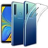 EasyAcc Coque pour Samsung Galaxy A9 2018, Etui Transparent Antidérapant Compatible avec Samsung Galaxy A9 2018 Protection Dorsale Étui Slim Invisible Housse Cover Case en TPU Gel