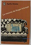 Le Meurtre de Roger Ackroyd - Le Livre de Poche - 01/01/1982