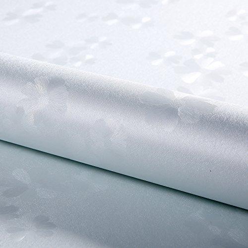 Zhzhco Plain Geprägte Wasserdicht Pvc Selbstklebend Wallpaper Wallpaper Hintergrund Tv-Wand Papier 60Cm*10M