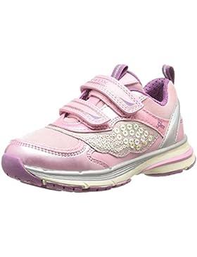 Geox J Top Fly Girl A - Zapatillas de Material Sintético para niña
