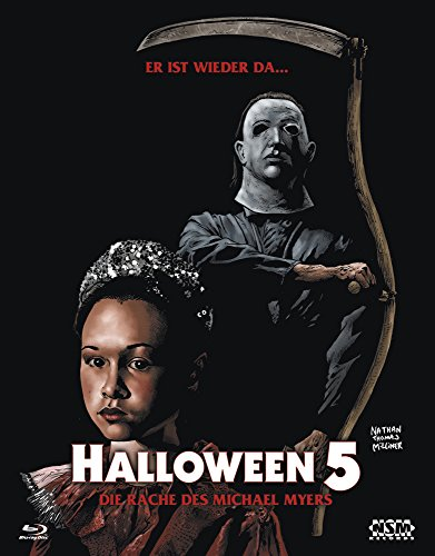 (Halloween 5 (Blu-Ray) Hartbox - Limited 333 Edition Cover B)