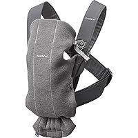 BABYBJÖRN Baby Carrier Mini, 3D Jersey, Dark Grey - ukpricecomparsion.eu