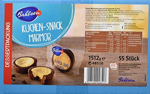 Bahlsen Kuchen Snack Marmor 1,51 kg ca. 55 - Kostüm Mit Karton