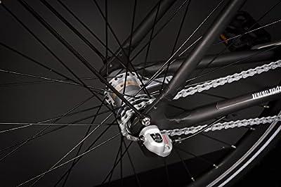 28 Zoll Alu Damen URBAN Fahrrad City Bike Shimano 3 Gang Nexus schwarz Rh53cm