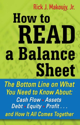 How to Read a Balance Sheet: The Bottom Line on What You Need to Know about Cash Flow, Assets, Debt, Equity, Profit...and How It all Comes Together (English Edition)