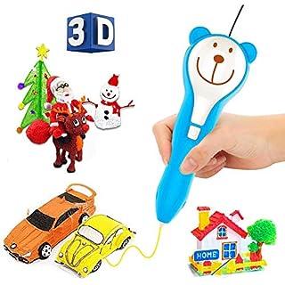 HAIFENG Kinderspielzeug 3D-Druck-Pinsel Handgemachte DIY Spielzeug Graffiti Malerei Magie Stereo Pen Kunsthandwerk Spielzeug for Mädchen und Jungen - Safe for Kinder - Keine Clogs - Cute