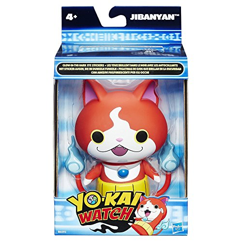 Hasbro Yo-Kai Watch b6592el5–5pouces Figurine jiba Nyan, gestionnaire Jouets