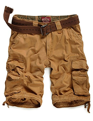 Match Herren Cargo Shorts #S3612(3612 Mud,48 (Tag size 3XL/38))