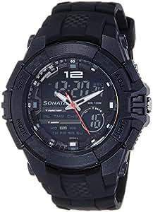 Sonata Ocean Series III Chronograph Multi-Color Dial Unisex Watch -NK77027PP01