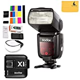 Godox TT685C 2.4GHz High Speed 1/8000s E-TTL II Camera Flash with X1C Flash Transmitter for Canon EOS Cameras (TT685C + X1T-C)