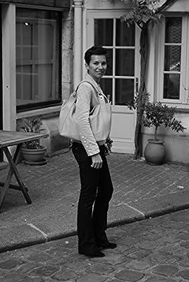 OH MY BAG SOLDES Sac porté épaule Cuir porté épaule main bandoulière et de travers femmes en véritable cuir fabriqué en Italie - modèle PARIS SOLDES