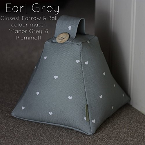 shabby-chic-fabric-door-stop-doorstop-handmade-in-harris-and-home-earl-grey-polka-dot-heart-fabric-f