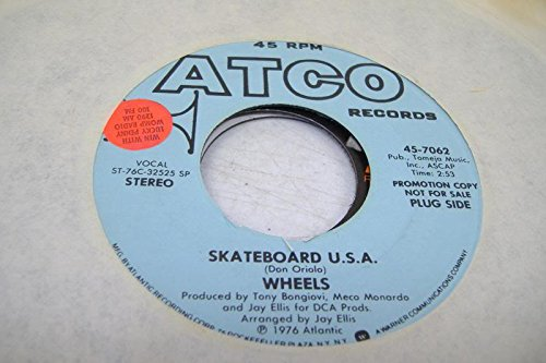 WHEELS 45 RPM Skateboard U. S. A. / Same