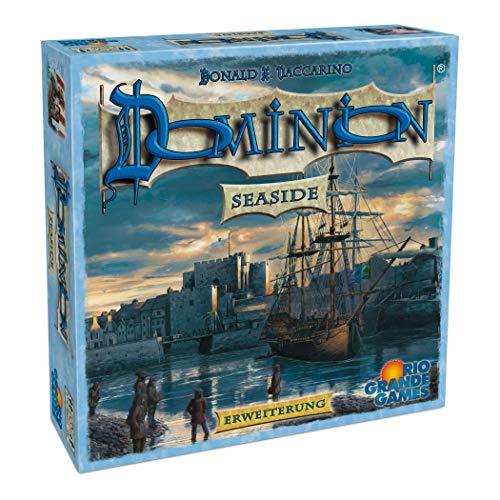 Rio Grande Games 22501406 22501406-Dominion Erweiterung-Seaside (Münzen Welt Der Gold)