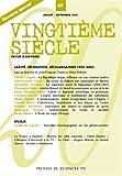 Vingtième siècle, N° 87, Juillet-Septe : Laïcité, séparation, sécularisation 1905-2005